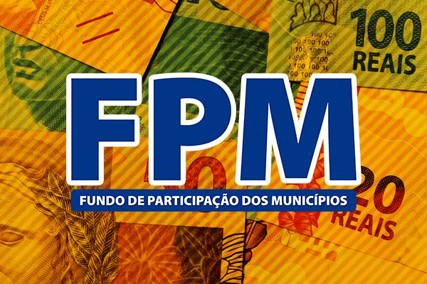 Segundo decêndio do FPM de abril apresenta redução de 13,04% em relação a 2017