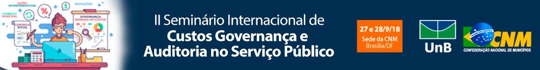 banner informe.ii.seminario.internacional.custo.governanca.auditorial.no.servico.publico