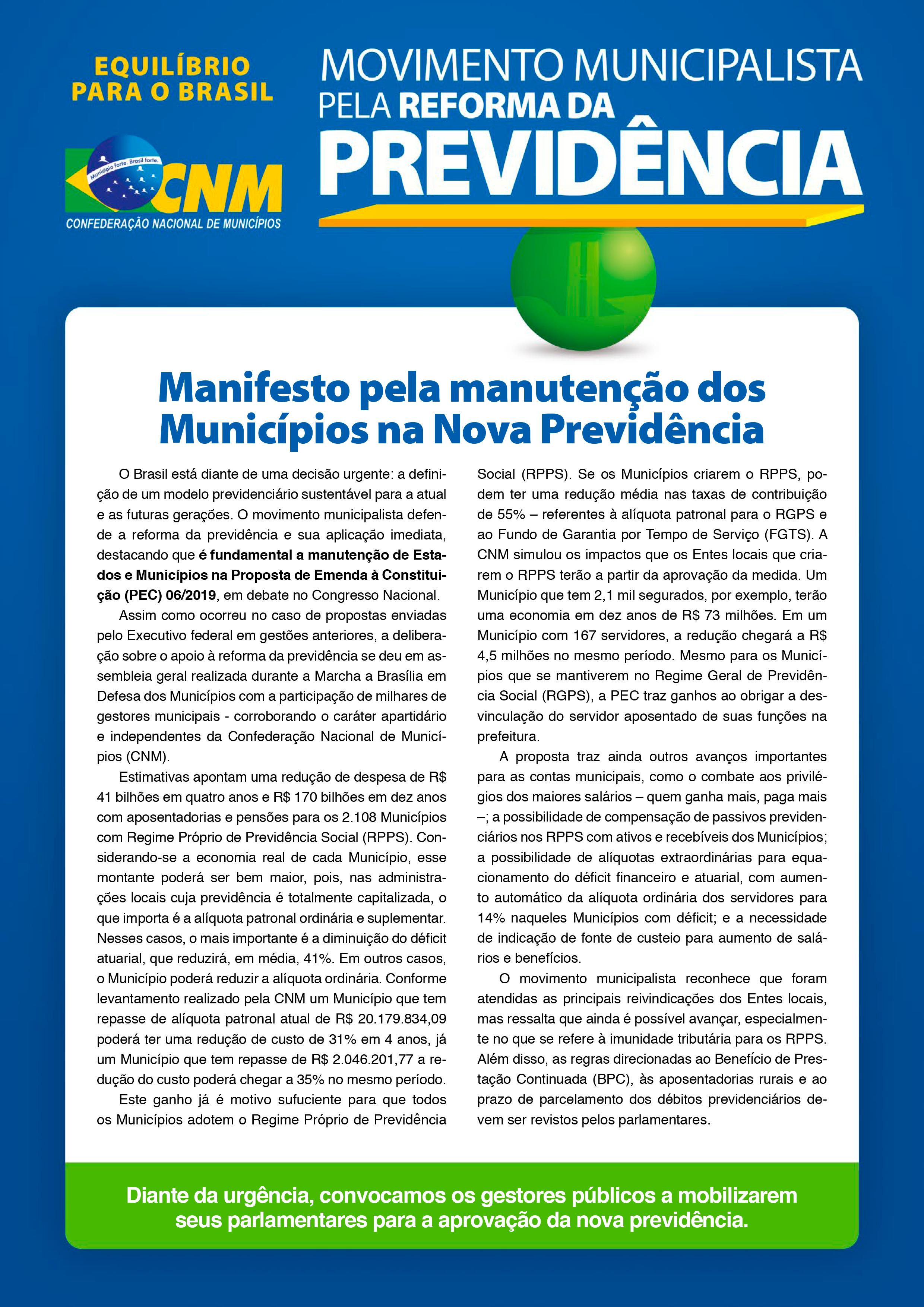 Folheto Reforma Previdencia v04062019 frente alterada 2