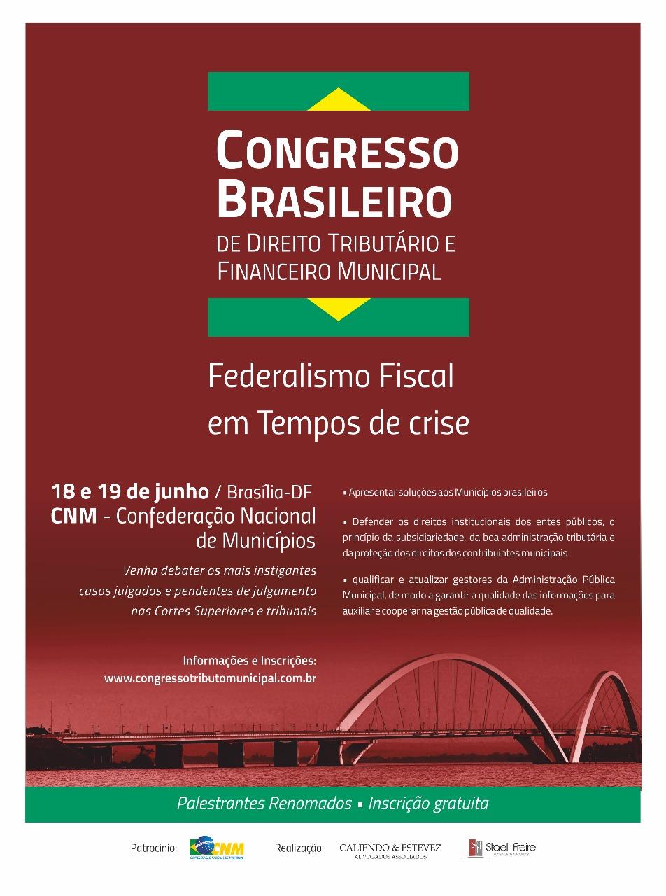 CNM sedia encontro que vai debater o federalismo fiscal em tempos de crise; inscrições gratuitas