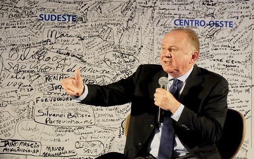 Ziulkoski revela emoção de apresentar futura casa dos Municípios aos gestores da Região Sul