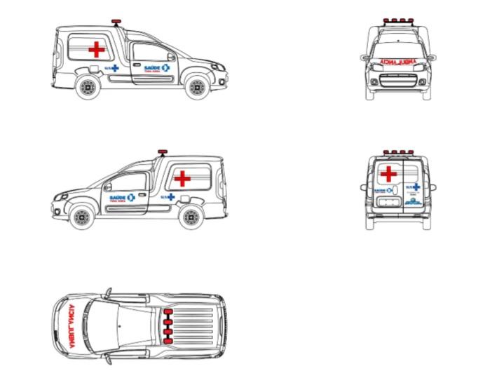 0911208 adesivos ambulancias