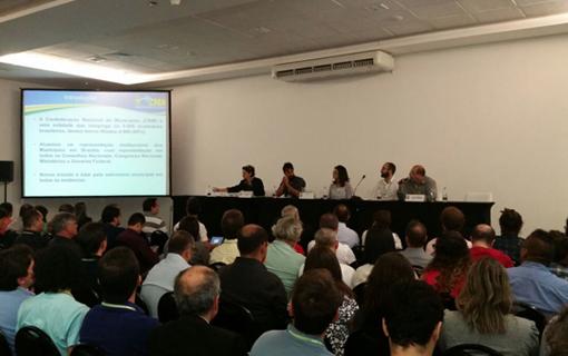 Confederação participa de evento sobre informações estatísticas do IBGE