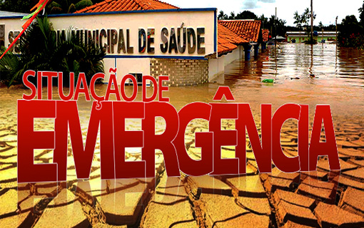 Decretos de emergência ou calamidade serão classificados por grau de intensidade