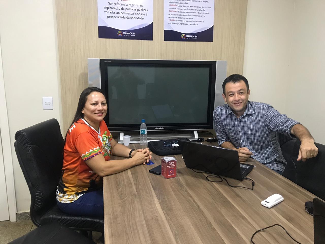 Equipes do Realidade Municipal conhecem desafios da gestão em Manaquiri (AM) e Barra de Santa Rosa (PB)