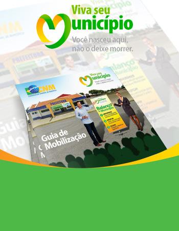 Viva seu Município: guia de mobilização orienta gestores municipais para sucesso nas ações