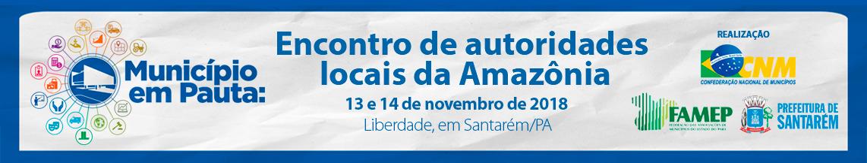 banner informe municipio em pauta encontro amazonico 1