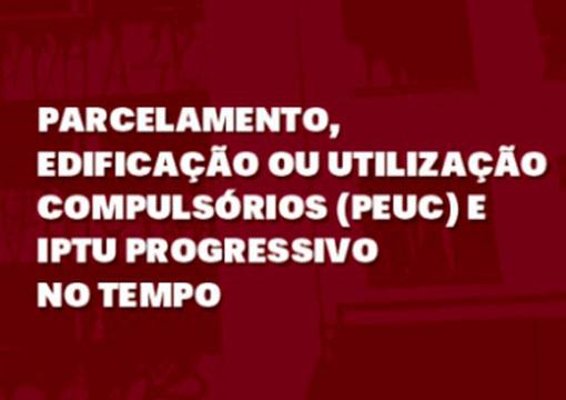CNM recomenda curso online sobre IPTU Progressivo na área de Planejamento Urbano