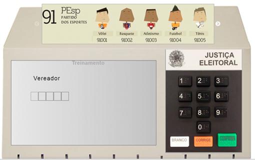 Simulador desenvolvido pelo TSE ajuda o eleitor na hora da votação
