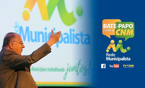 Ziulkoski inaugura transmissão do bate-papo com a CNM no live do Facebook