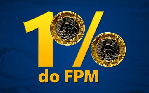 Repasse extra de 1% do FPM será de R$ 3,8 bilhões, transferidos nesta quinta