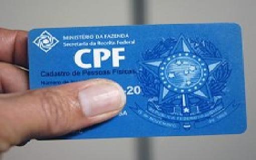 Receita disponibiliza atualização do CPF pela intenet a partir desta segunda, 16