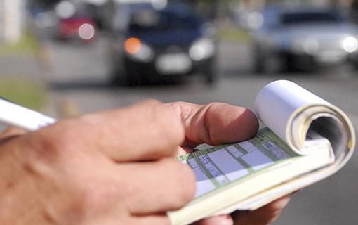 Valor das multas de trânsito aumenta a partir de amanhã