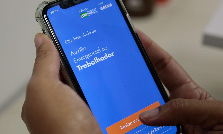 23042020 app caixa auxilio emergencial Marcello Casal Jr. Agencia Brasil