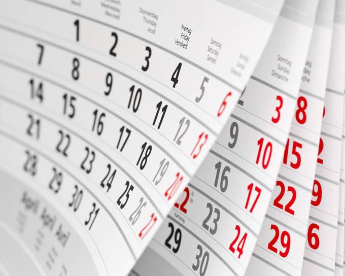 calendario divulgacao