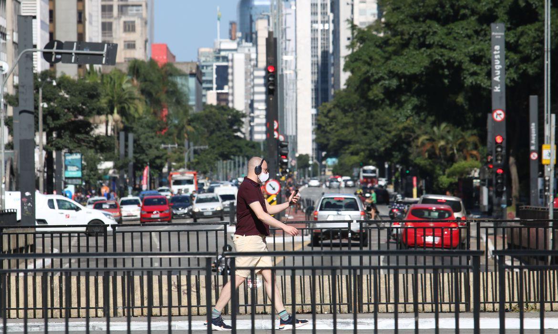 avenida paulista durante a pandemia de covid 192904200173