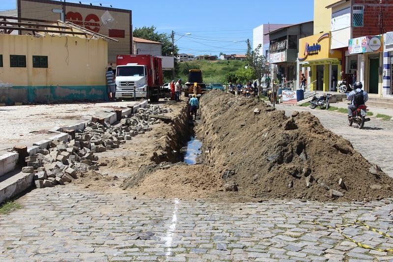 21032019 obra saneamento prefeitura solonopole CE