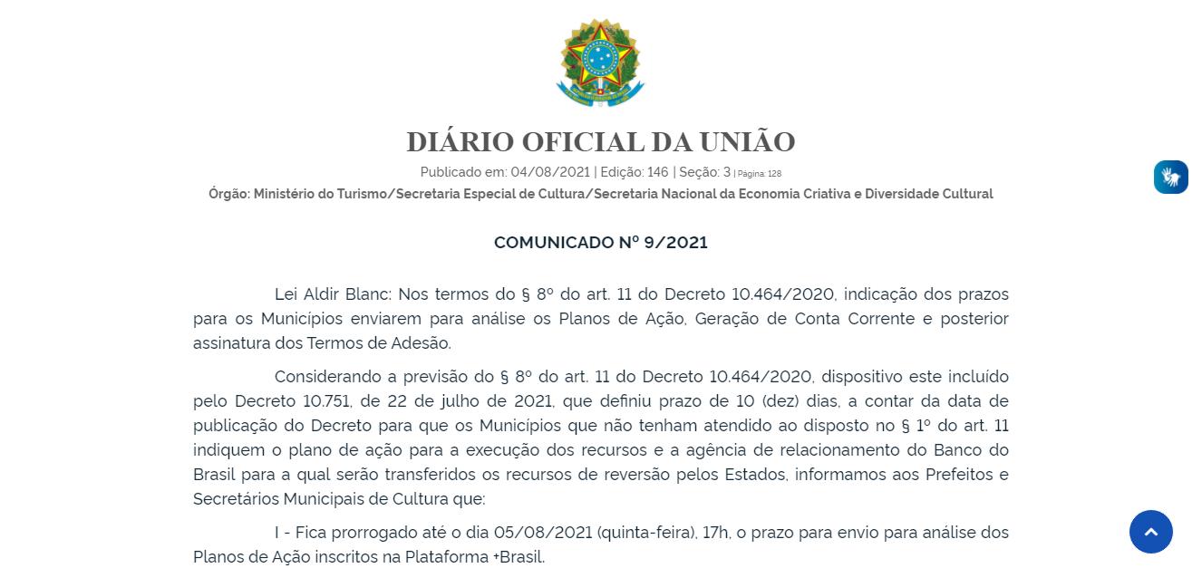 04082021 AldirBlanc Publicacao