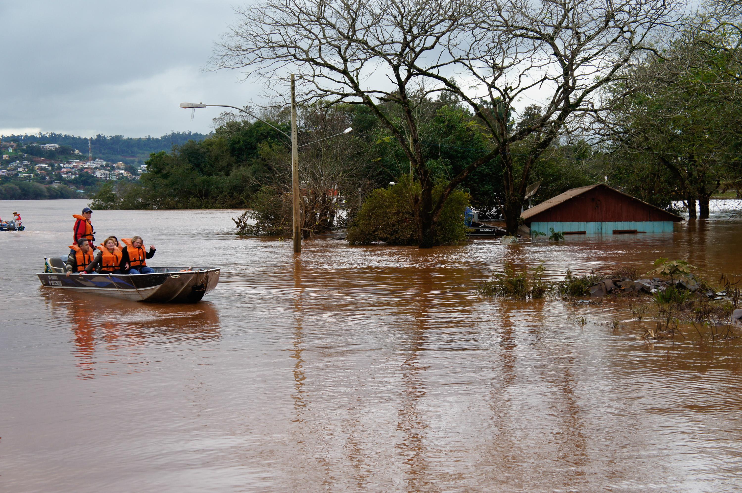 Chuvas no RS: 11 Municípios estão em Situação de Emergência