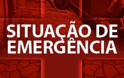 Defesa Civil reconhece situação de emergência em 203 Municípios brasileiros