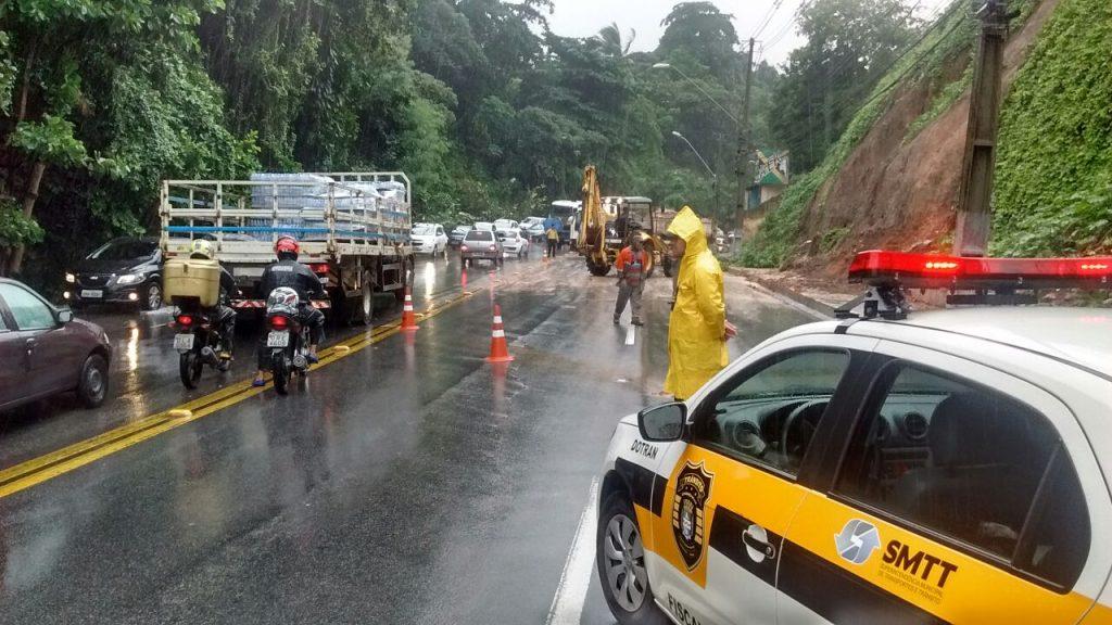 Chuvas causam danos em Municípios de Norte a Sul do país