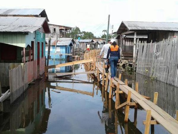Pesquisa mostra que enchentes aumentam em mais de 100% casos de hepatite A