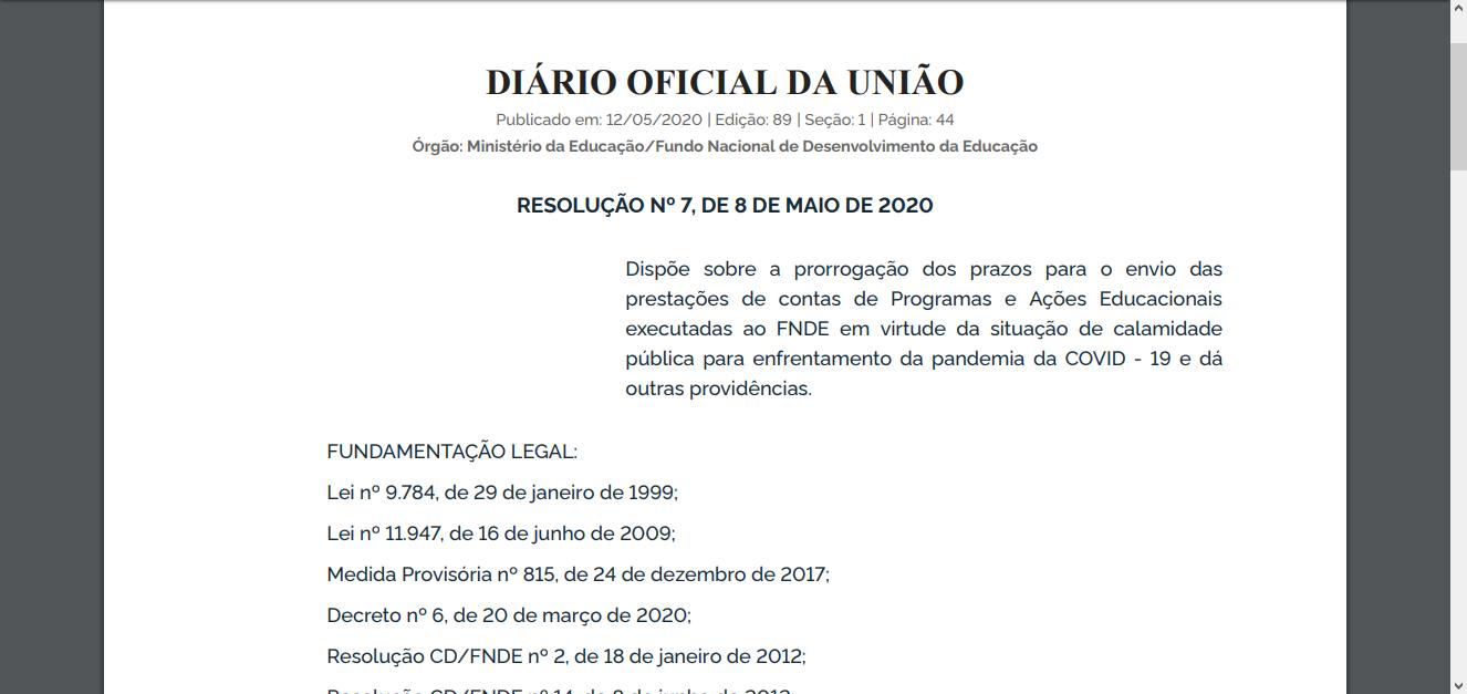 13052020 reso7 DOU Educ