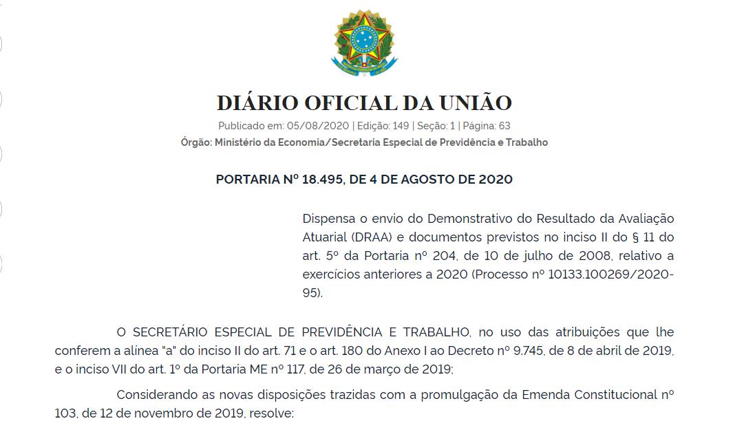 05082020 Previdencia DOU