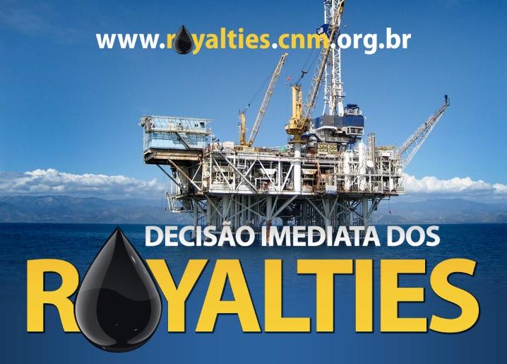 Editorial do Estadão sobre liminares do STF cita caso dos royalties, CNM luta pela redistribuição