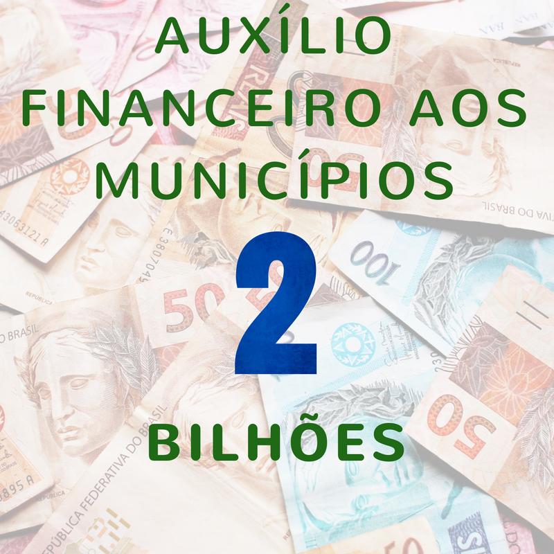 Resultado de imagem para Auxílio Financeiro aos Municípios (AFM)