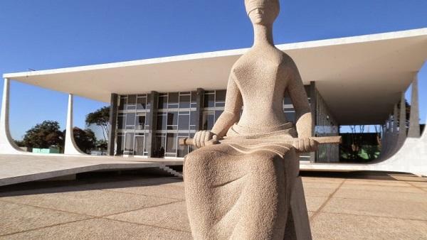 Estátua da Justiça - Secom/STF