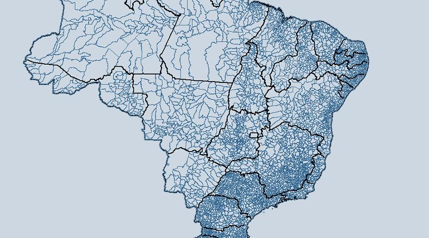 Malha Municipal, atualização de áreas territoriais e mapas foram disponibilizados pelo IBGE