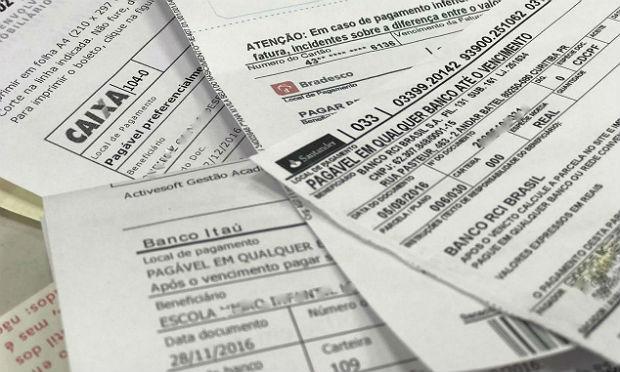 Boletos vencidos poderão ser pagos em qualquer agência bancária a partir de 10 de julho