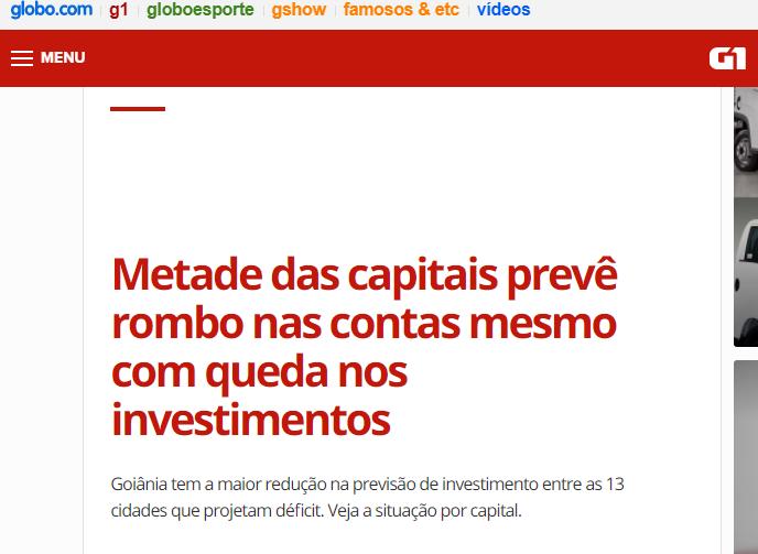 As cidades não devem esperar boas notícias de Brasília em 2018, diz Ziulkoski em entrevista ao G1