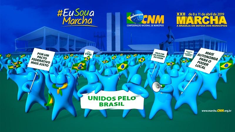 XXII Marcha: mais de 1200 gestores municipais já se inscreveram