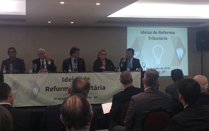 Movimento municipalista é representado em seminário sobre reforma tributária