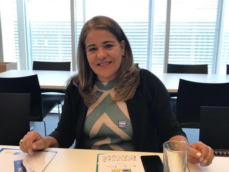 Prefeita de São João de Iracema esclarece dúvidas sobre várias áreas em visita à CNM