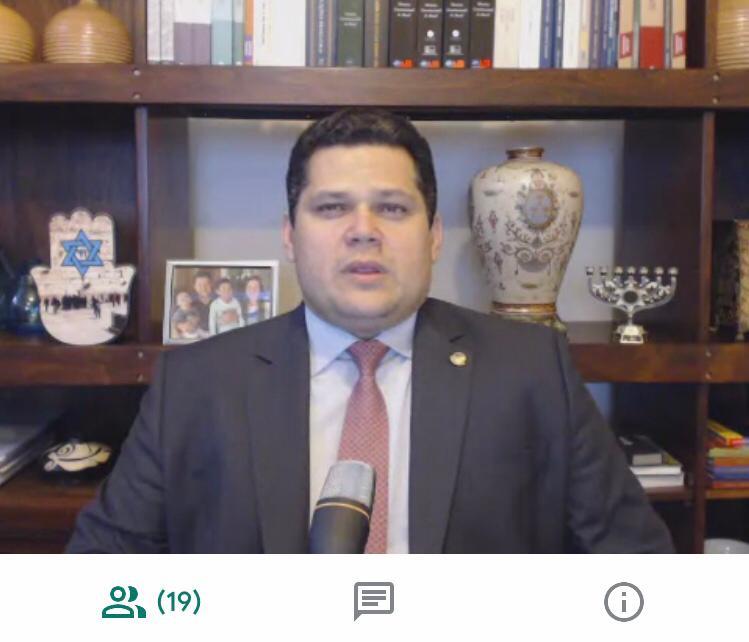 07042020 Alcolumbre reuniao com prefeitos do Amapa