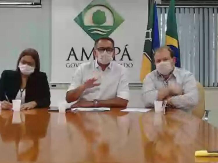 07042020 conferencia prefeitos e governo do Amapa