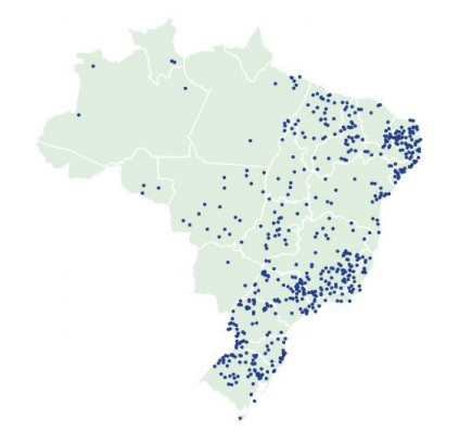 Mapeamento mostra que um em cada dez Municípios tem nomes com referência a santos