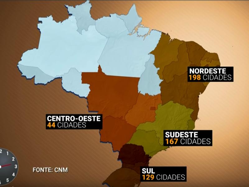 Reportagem do SBT Brasil destaca mapeamento da Confederação