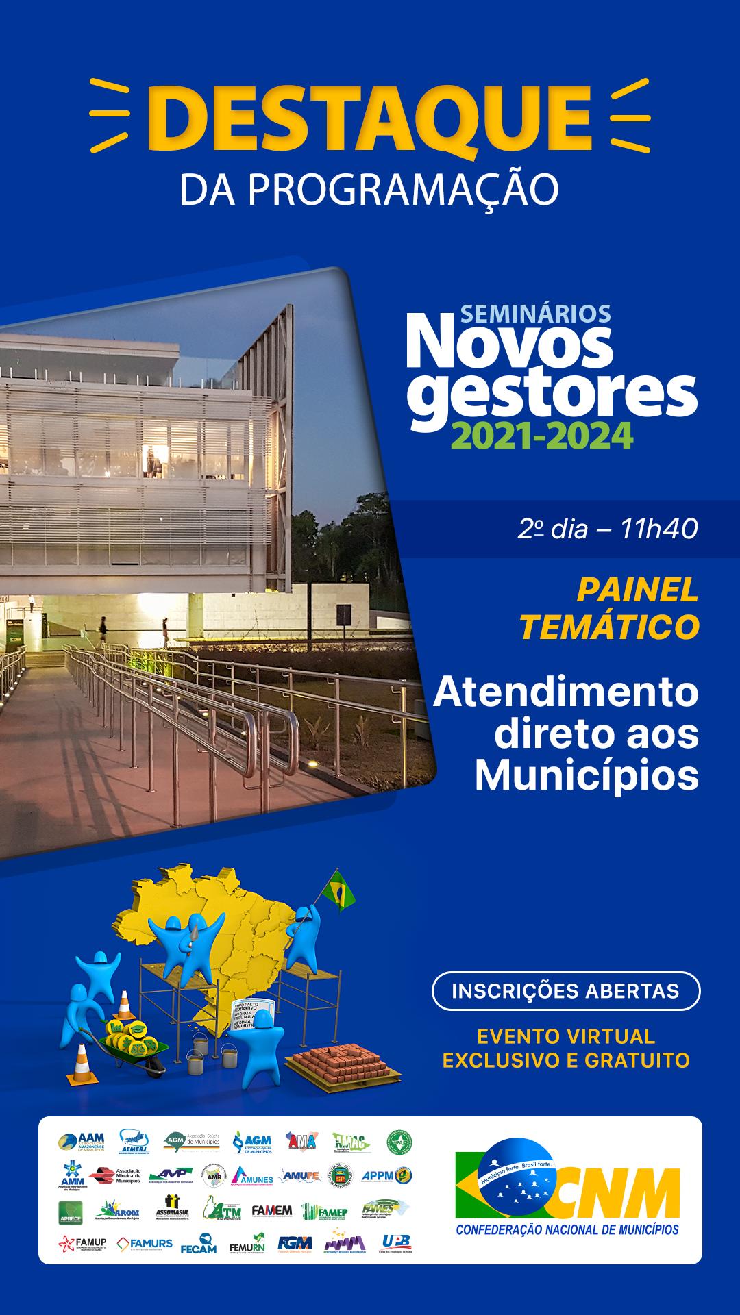 Seminário Novos Gestores 2021-2024