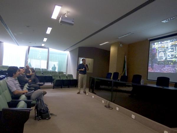 CNM participa de palestra sobre oportunidades de negócios e turismo em áreas protegidas