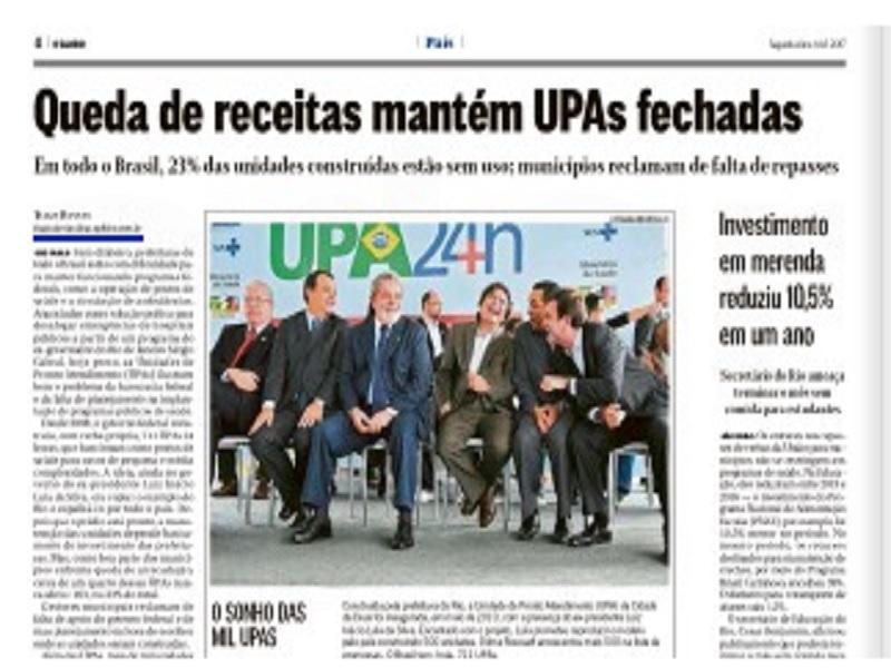 14082017 OGlobo UPAs