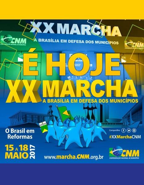 XX Marcha: Maior evento político do mundo em número de autoridades tem início nesta segunda, 15