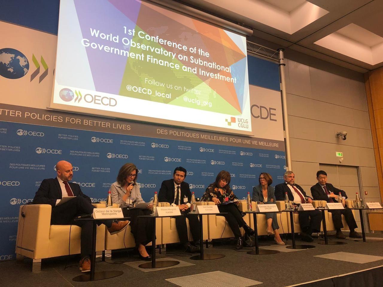 CNM participa da Conferência do Observatório Mundial de Finanças e Investimentos dos Governos Subnacionais