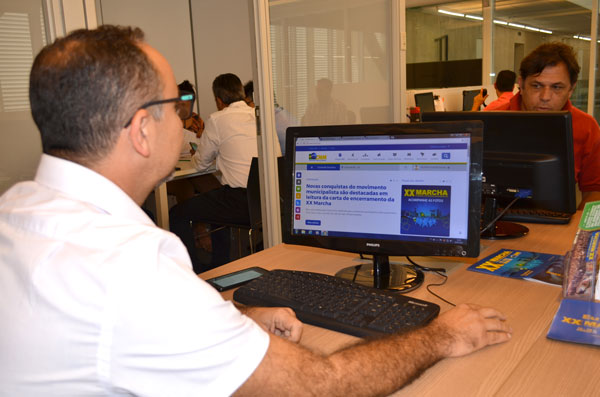 Após Marcha, prefeitos visitam a sede da CNM sedentos por informações