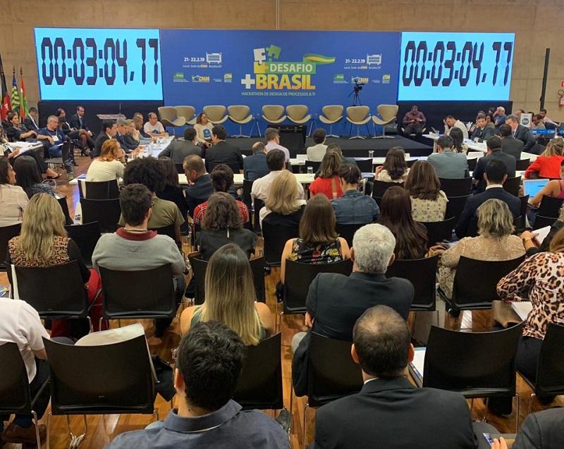 Desafio + Brasil: representantes de vários órgãos apresentam desafios aos maratonistas