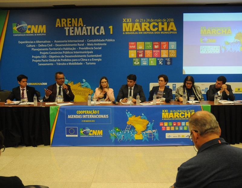 Terceiro setor e gestores discutem Desenvolvimento Sustentável e fronteira