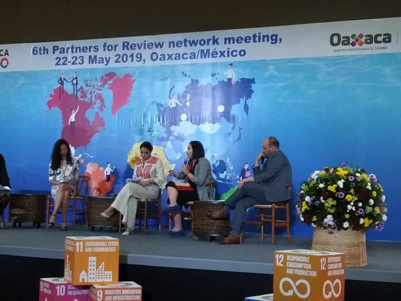 CNM apresenta ações da entidade em reunião da rede Partners for Review no México